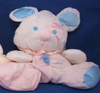 Pink Puffalump Puppy