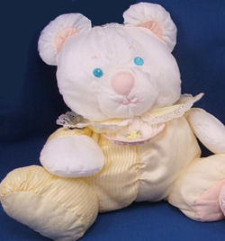 Fisher Price Yellow Stripe Bear