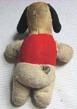 Puppy Love vintage stuffed dog