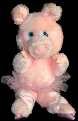 80's RUSS Lola Ballerina Pig