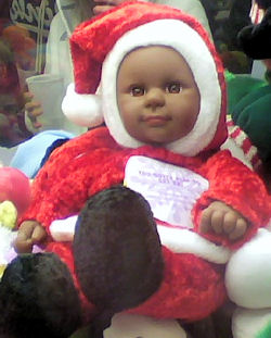 Sugar Loaf? Black Santa Kostume Kid