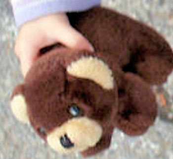 Small Brown Bear with Cream Muzzle & Ears