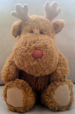 Early 90's Soft Dreams No. 55610 Light Brown Moose