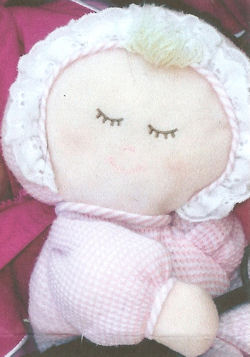 , FOUND – 2005? Little Kids Preferred BLOND DOLL PINK BODY with PINK DOTS & HEARTS