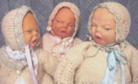 Vintage Squalling Baby Dolls