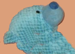 GOFFA Blue Diamond Patterned Bear