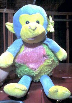Sugar Loaf Blue Multi-Colored Monkey