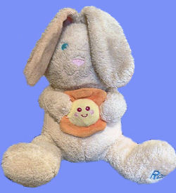, FOUND – 2002 Kids II YOU ARE MY SUNSHINE Rabbit Named RAE