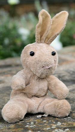 Target 6 inch Beige Rabbit with Stand Up Ears