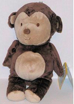 , FOUND – Target BROWN MONKEY with TAN FACE, EARS, TUMMY