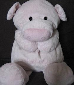2007 Target Large Floppy Pink Pig