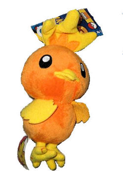 2007 Pokemon Torchic plush Doll