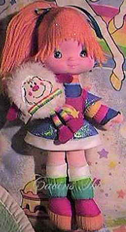 , FOUND – Hallmark White TWINK SPRITE Furry Pet for RAINBOW BRITE