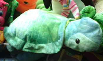 Claw Machine Sugar Loaf Type Plush Green Turtle