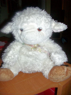 Best Made Toys White Lamb with Brown Hooves