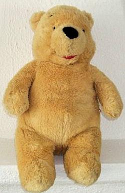 Beige Pale Yellow Winnie the Pooh Bear