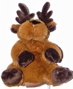 , Searching –  Wishpets Myra Deer/Moose hand puppet 82029