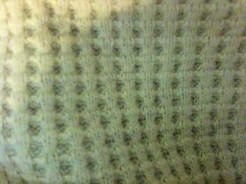 Yellow 40x40 inch Yellow Waffle Weave Baby Blanket