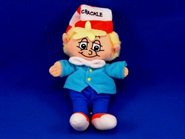 1997 Kellogg Advertising CRACKLE Small Rice Krispies Doll