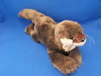 Wildlife Artists Large Lying Down Realistic Otter