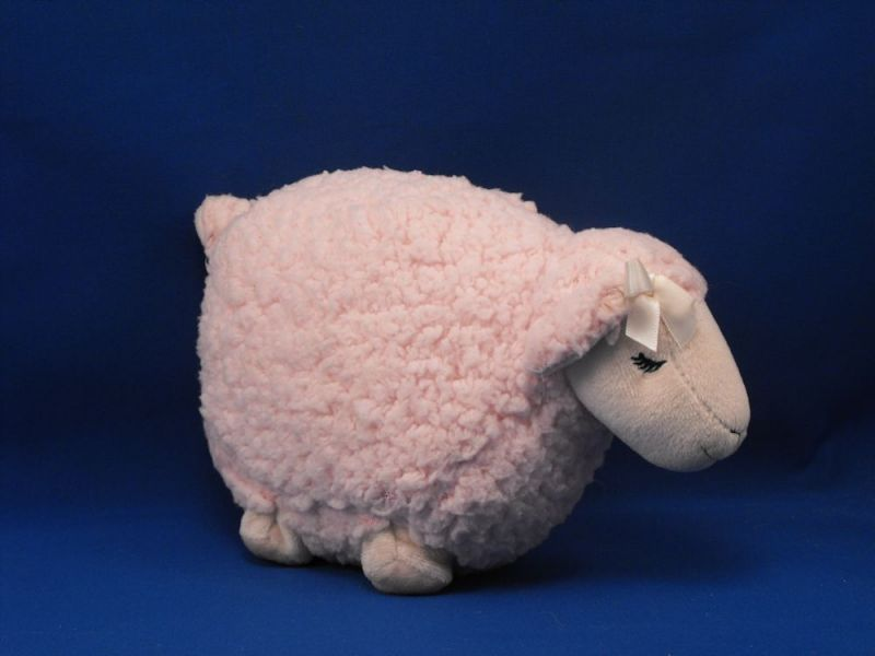 Bath Body Works Scented Pink Wooly Standing Asleep Lamb