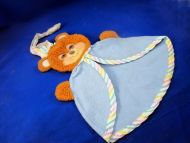 1985 Fisher Price Teddy Beddy Bear Security Blanket DISCOUNTED
