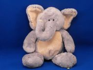 Baby Boyds Gray Cream Elephant TILLY Rattle