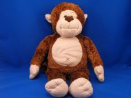 Build a Bear Large Brown Tan Marvelous Monkey