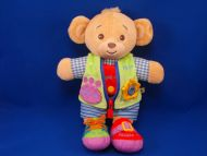 Build a Bear Workshop 2006 Tan Teach Me Dress Me Boy Bear