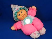 1982 CPK Peek N Play Pink Doll Puffalump Style Mirror PERFECT