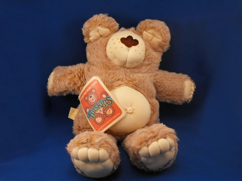 1983-1984 CPK Furskins XL Boone Bear Naked Attached Booklet COA