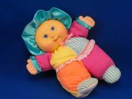 CPK My First Cabbage Patch Doll Textured Turquoise Purple Orange