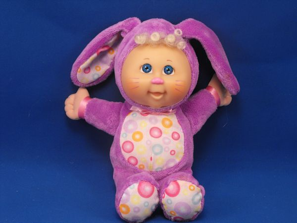 CPK Purple Cabbage Patch Easter Rabbit Doll