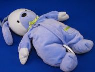 Carters Blue Dog Thank Heaven for Little Boys Crib Pull Twinkle