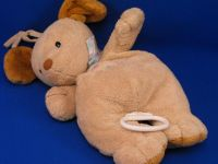 Carters Baby no 96152 Tan Dog Puppy Love Crib Pull Brahms