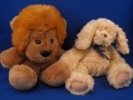 GUND by Mica no 5367 Beige Dog Woober