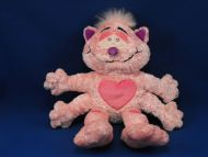 Commonwealth Toy Pink Love Monster Cat with HEARTS