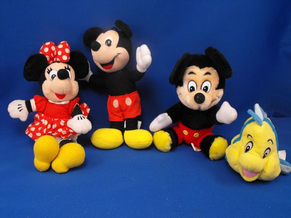 Disney Playskool Mickey Mouse Standing Red Shorts Yellow Shoes
