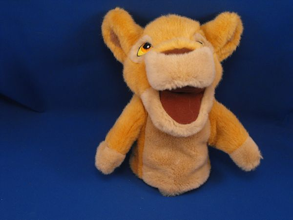 Disney Lion King SIMBA Hand Puppet
