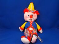 Fisher Price Teach Me Dress Me Red Hair Clown Activity Doll