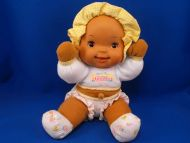 Goldberger Baby's First Giggles Ethnic Seated Baby