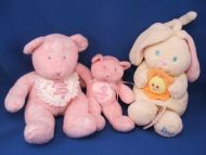 Enesco 2 Pink Bears I Have a New Baby Sister I Have a New Big Sister