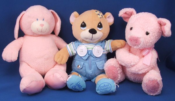 Luv n Care Precious Moments Tan Bear Cubby Teach Me Dress Me