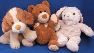 DanDee Collectors Choice Seated Brown Tan Bear
