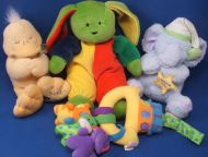 Aurora 1999 Bright Green Rabbit Yellow Red Blue Sleeper