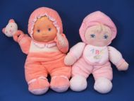 Goldberger Babys First Bundle of Joy Blond Doll Pink BABY HEART