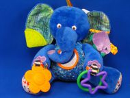 Kids Preferred Eric Carle 2008 Activity Blue Elephant