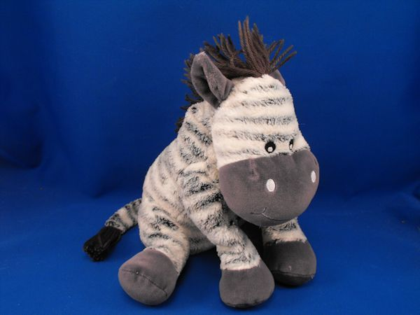 Koala Baby Gray White Smiling Seated 11 inch Zebra