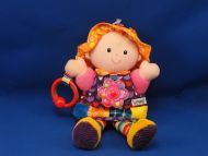 Lamaze Play and Grow Doll My Friend Emily Crinkle Teether Rattle