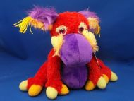 Manhattan Toy Galoompagalots GLUS Red Purple Yellow Monster